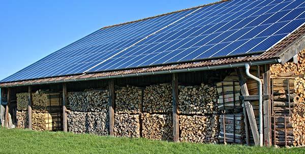 Photovoltaik Bauernhof Arndt & Wrede